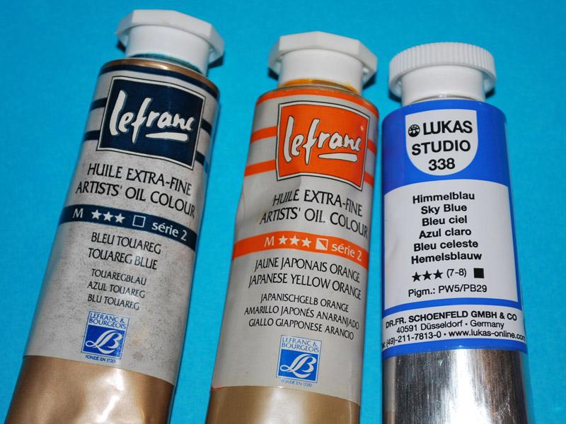 Tortellinux modellismo blog archive opacit dei for Colori ad olio professionali